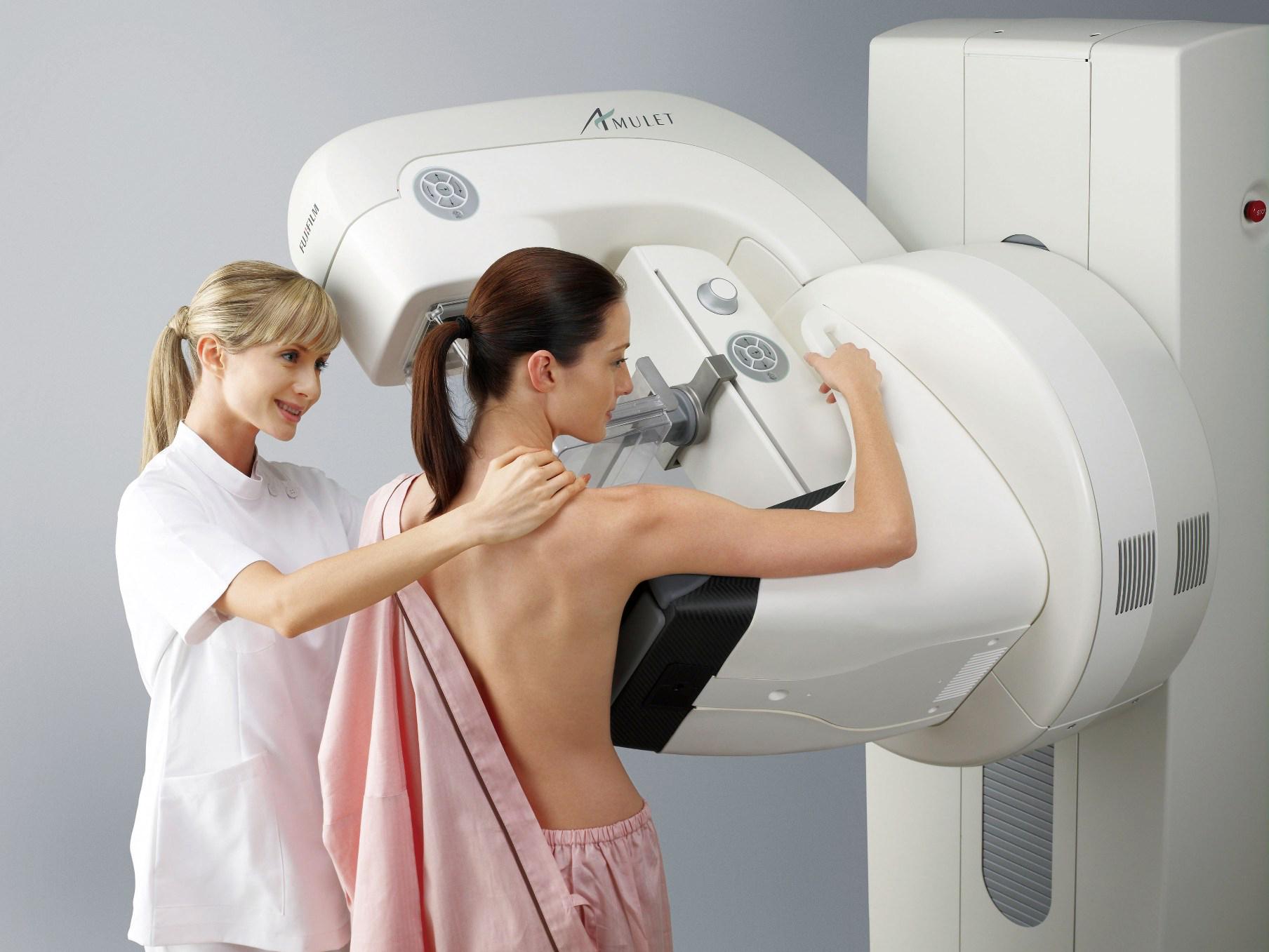 Diminuindo o desconforto nas mamografias