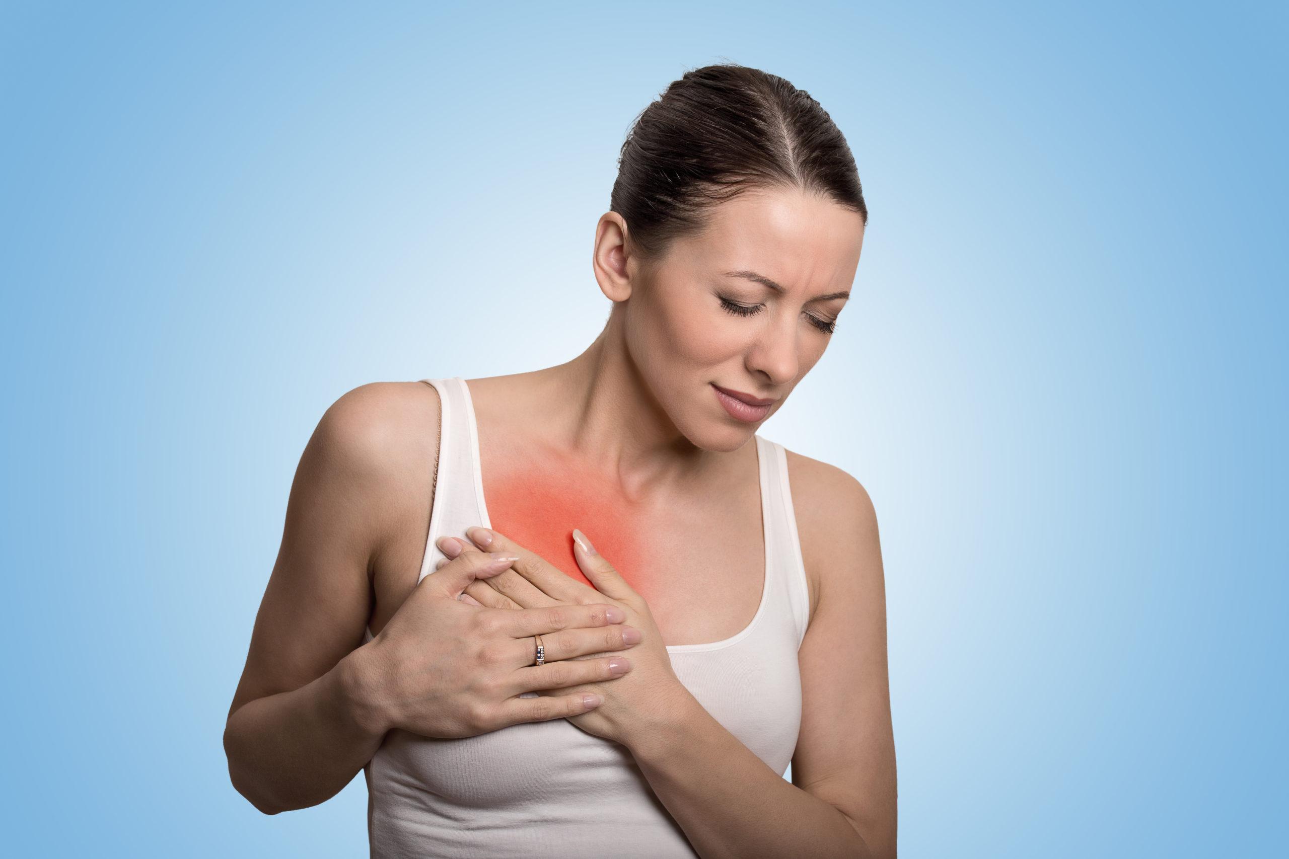 Infecções nas mamas