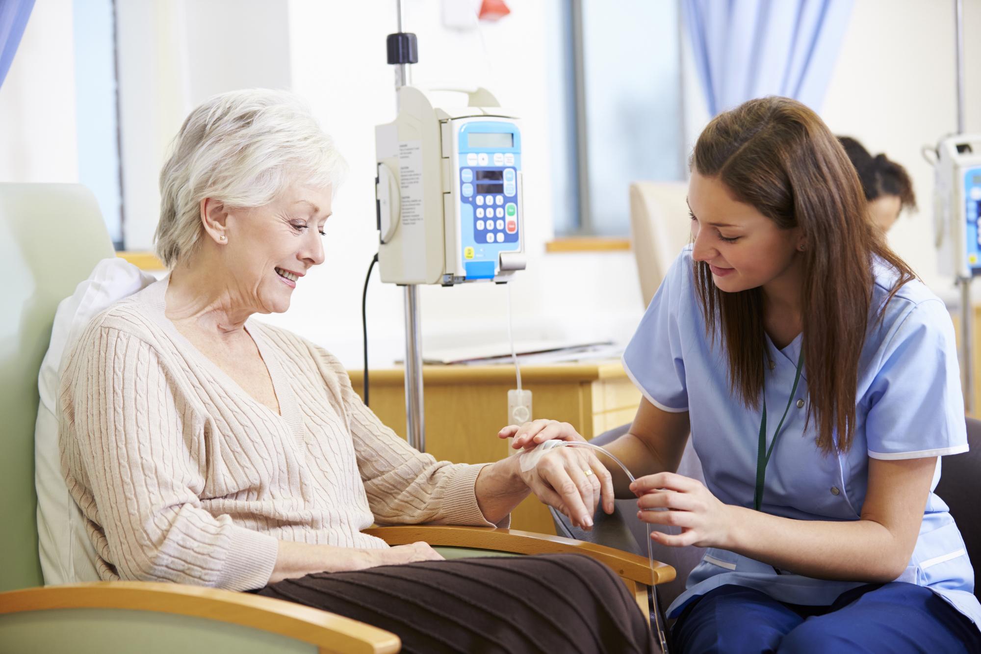 Efeitos colaterais do tratamento com quimioterapia