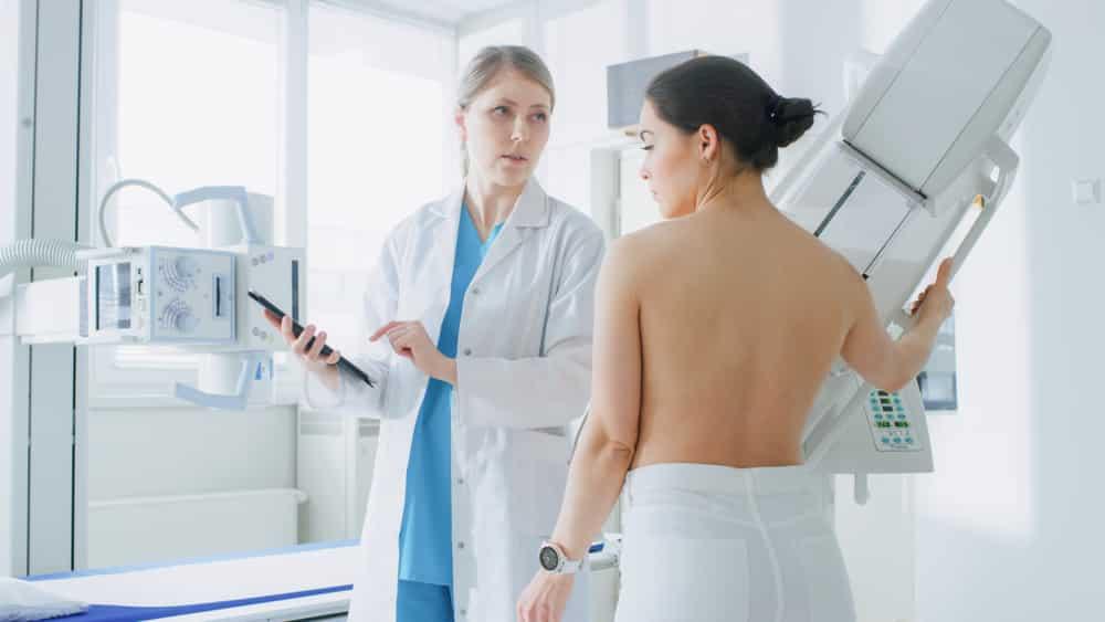 Mamografia, tomossíntese e ultrassonografia