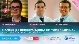 Live CMB   Manejo de Recidiva Tardia em Tumor Luminal - Discussão de Caso Clínico