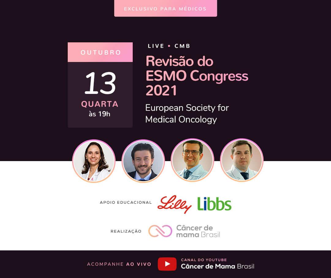 Live Revisão ESMO Congress 2021